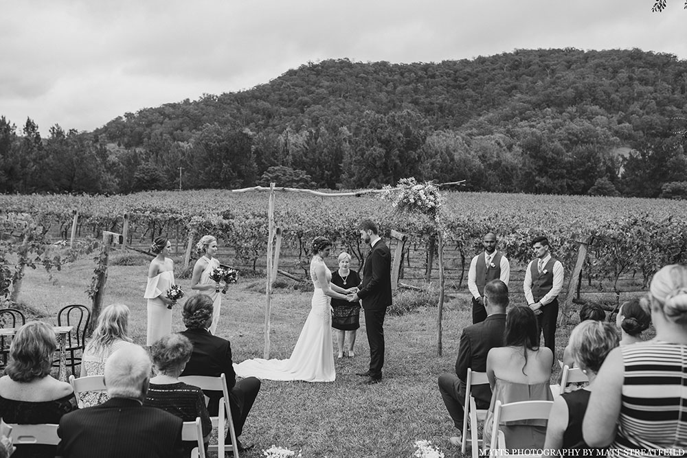 Stonehurst Cedar Creek, Vineyard Wedding