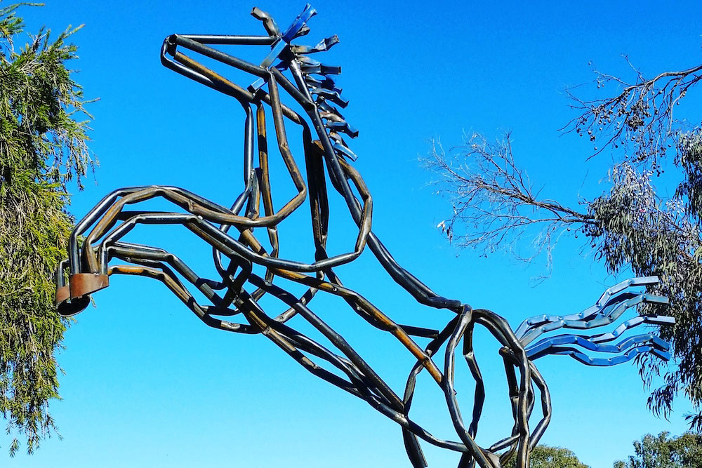 Sculpture in the Vineyards, Wollombi Wine Trail, Hunter Valley