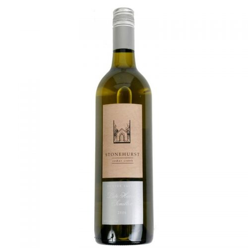 Stonehurst Wines, Hunter Valley, Late Harvest Semillon