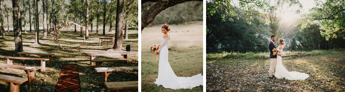 Hunter Valley Winter Wedding at Stonehurst Cedar Creek